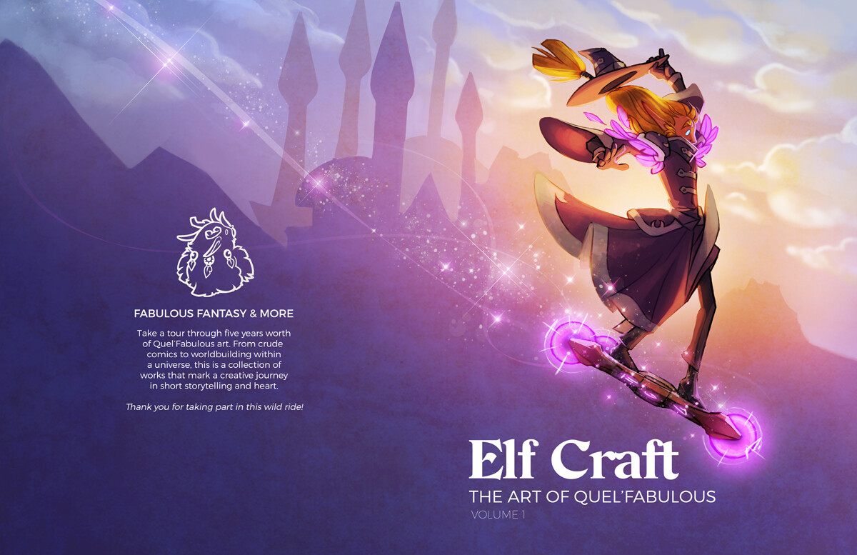 Elf Craft Artbook Cover