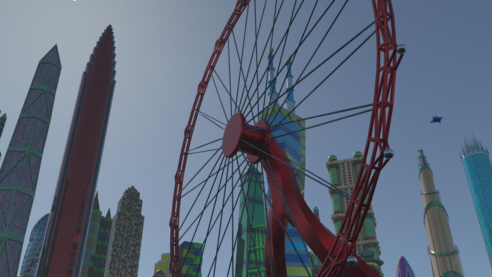 Scarlinite Wheel