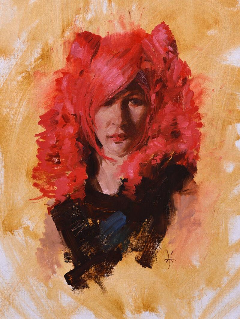 Jonathan hardesty the red wig medium