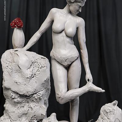 Surajit sen thorn 1 digital sculpture surajitsen aug2019