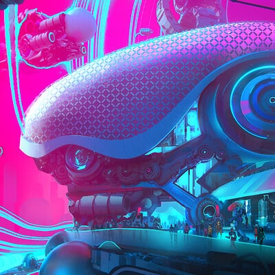 Leon tukker spacepirate cityas