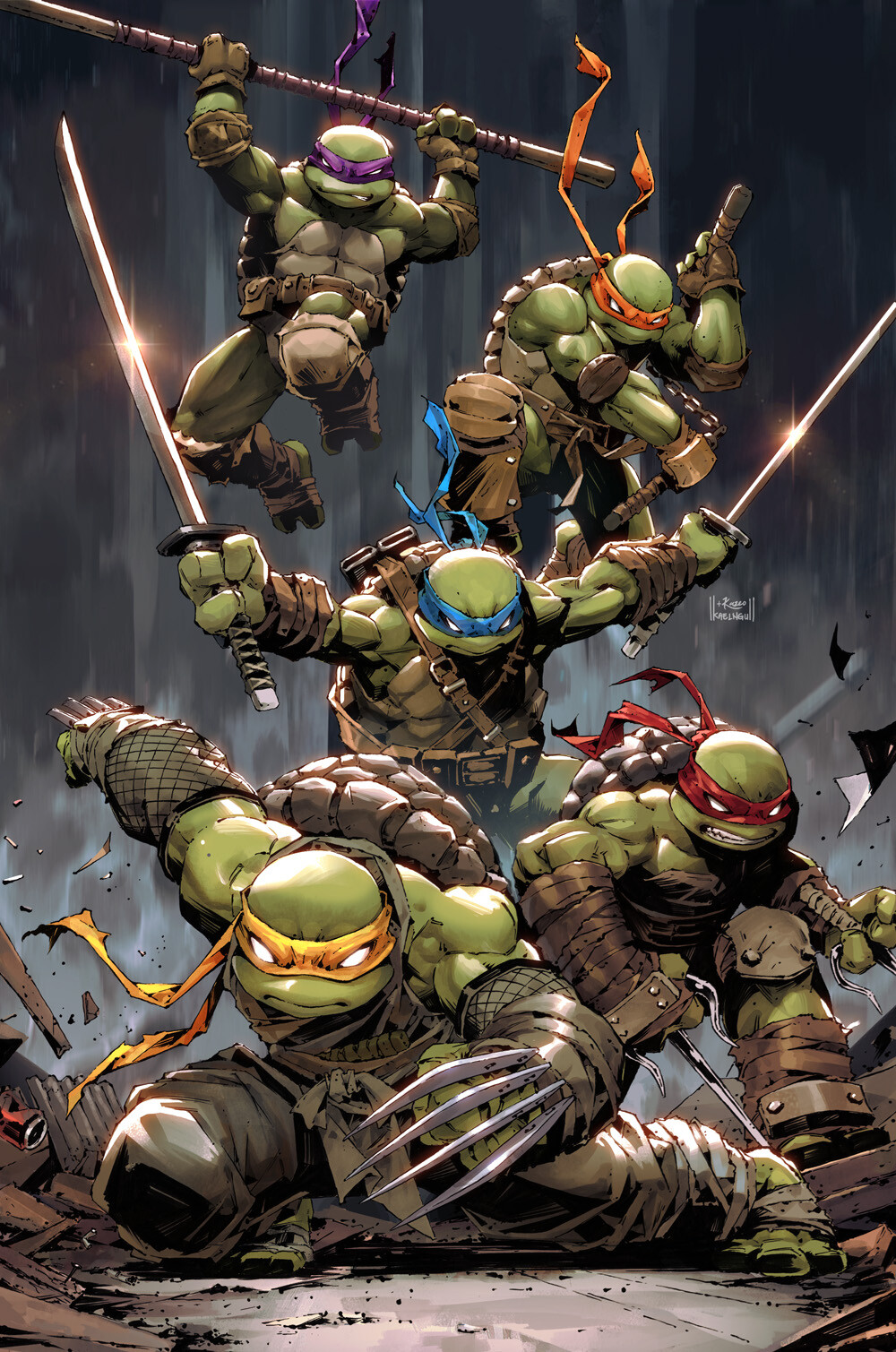 Teenage Mutant Ninja Turtle #99