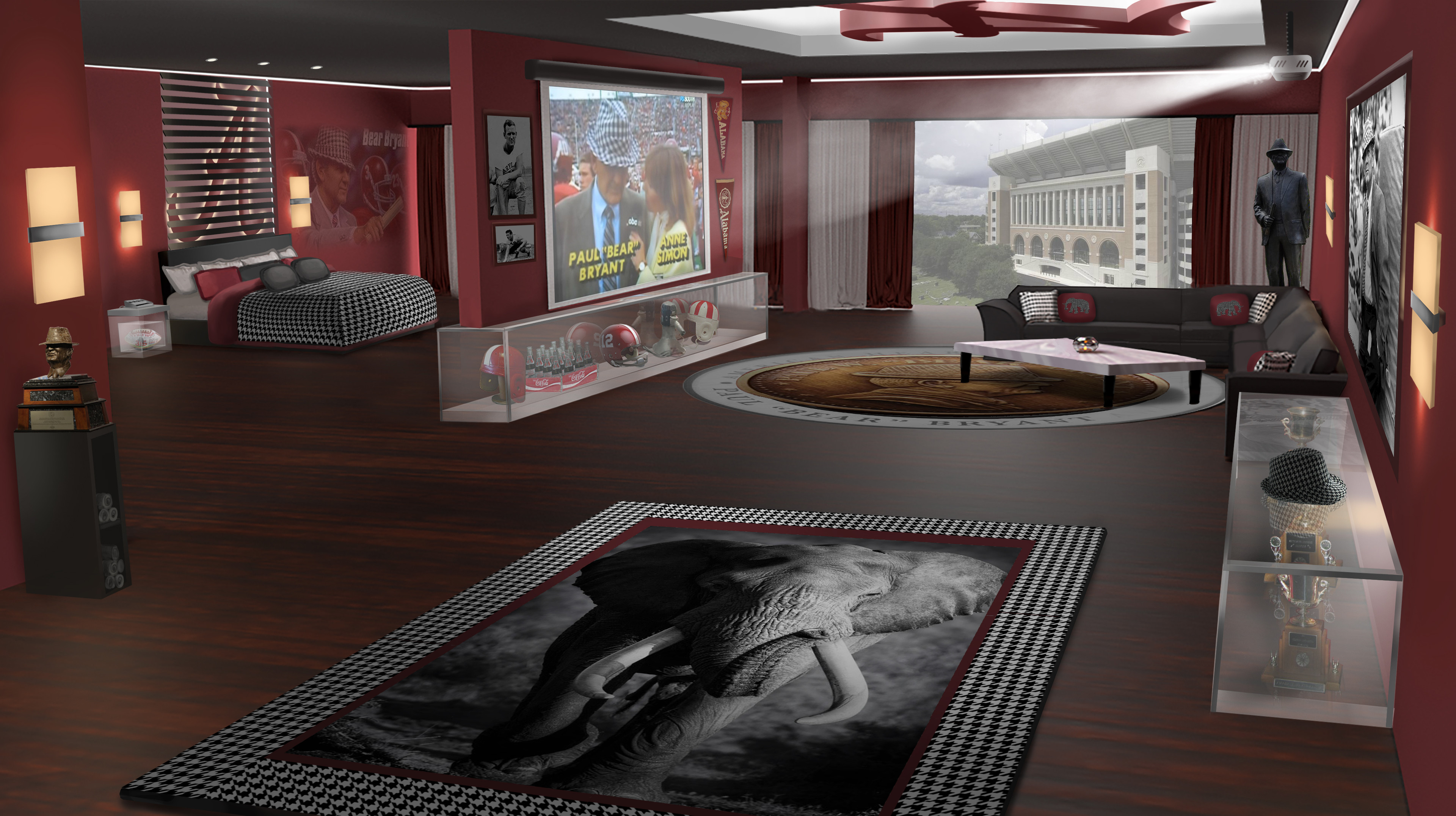 Suite based on the legendary football coach.
