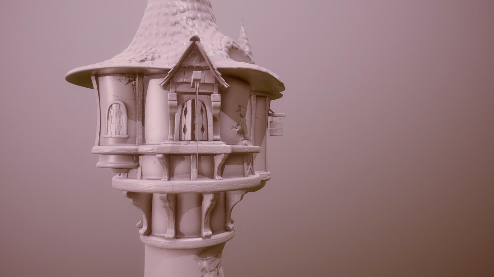 Disney Tower Rapunzel