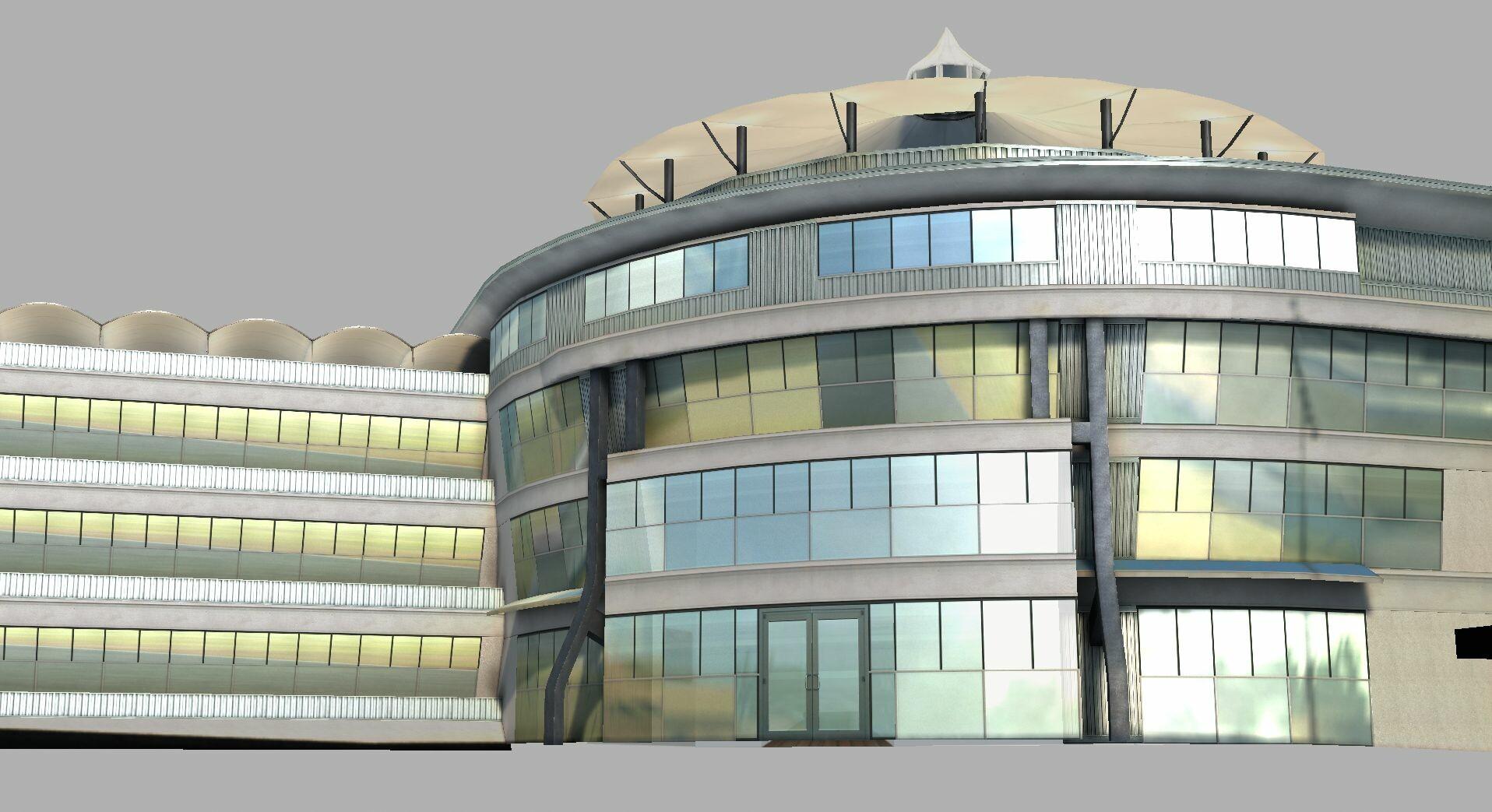Pit building 2