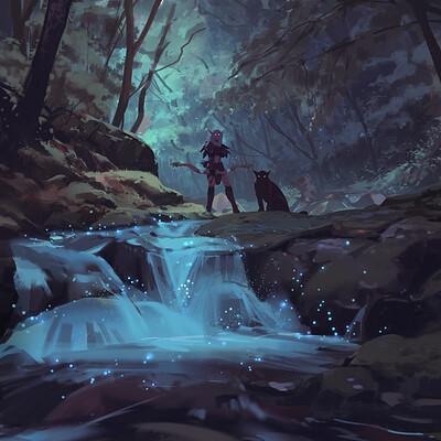 Atey ghailan night elf hunter in ashenvale4