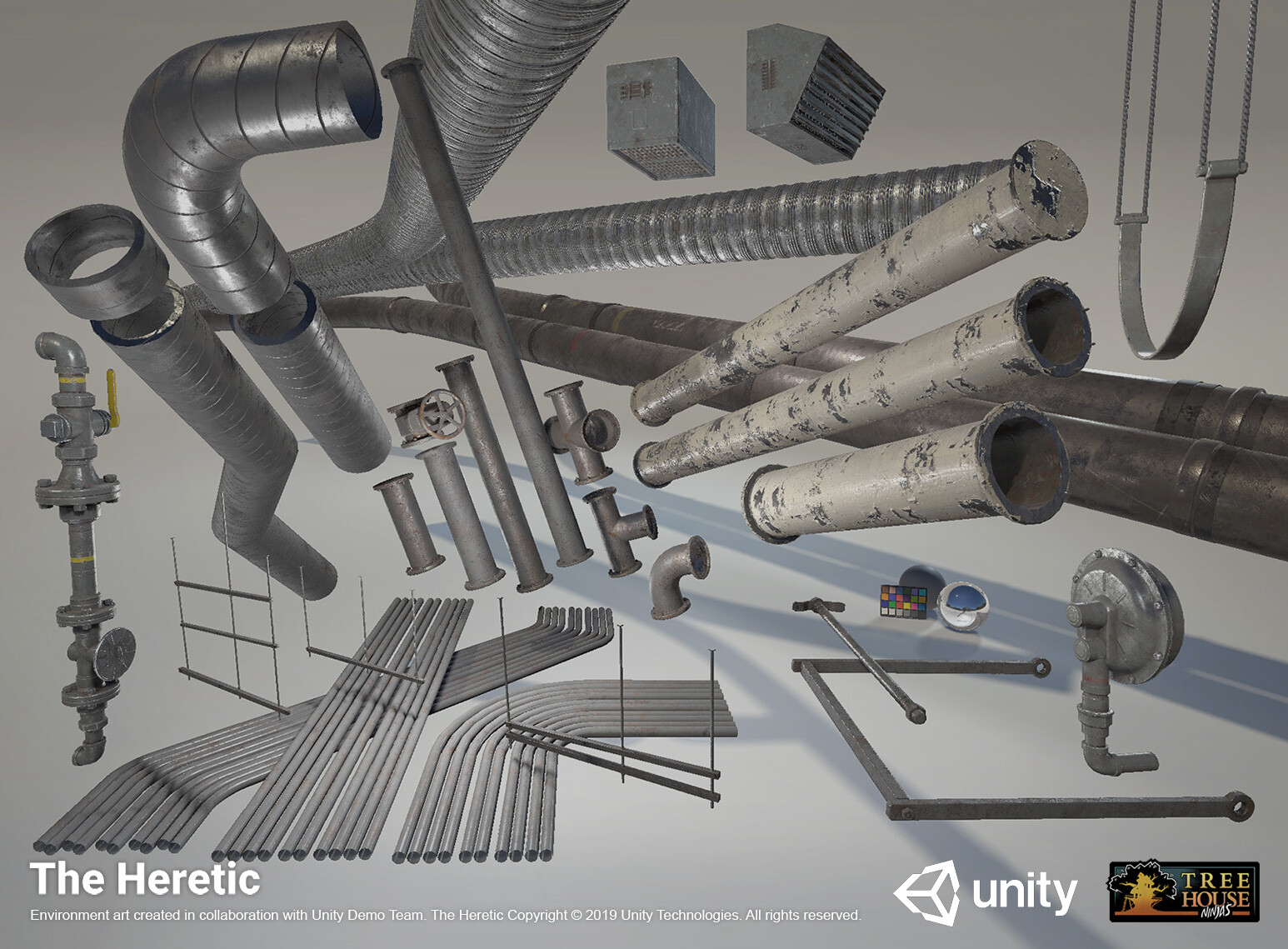 ArtStation - The Heretic - Basement Exquisite Asset