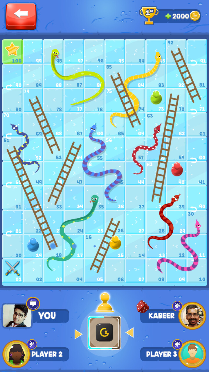 Vibhas virwani snakesandladders gameplay iceboard