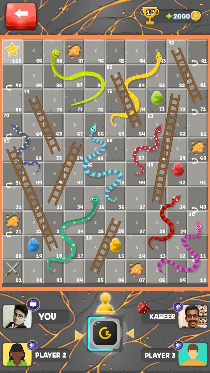 Lava theme Gameplay Screen