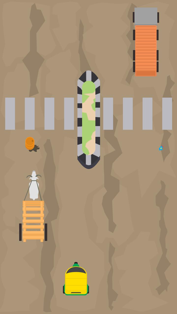Rajasthan roads gameplay screen