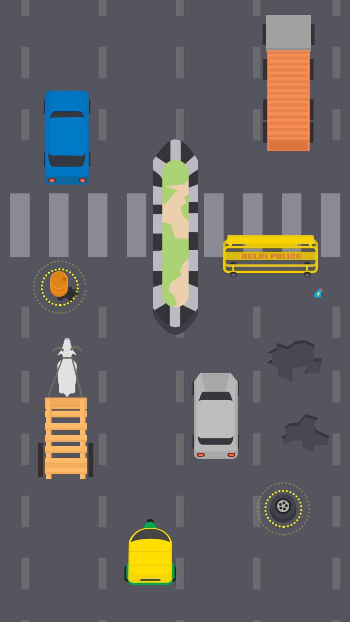 Delhi roads