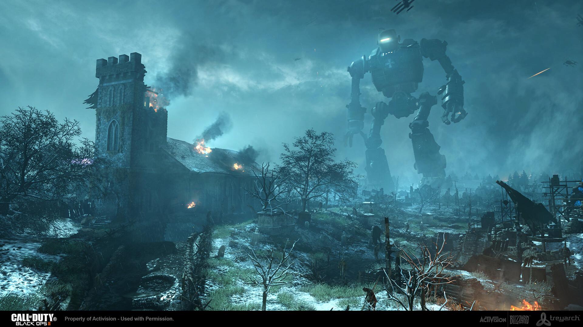 Douglas Guanlao Call Of Duty Black Ops 2 Zombies Origins