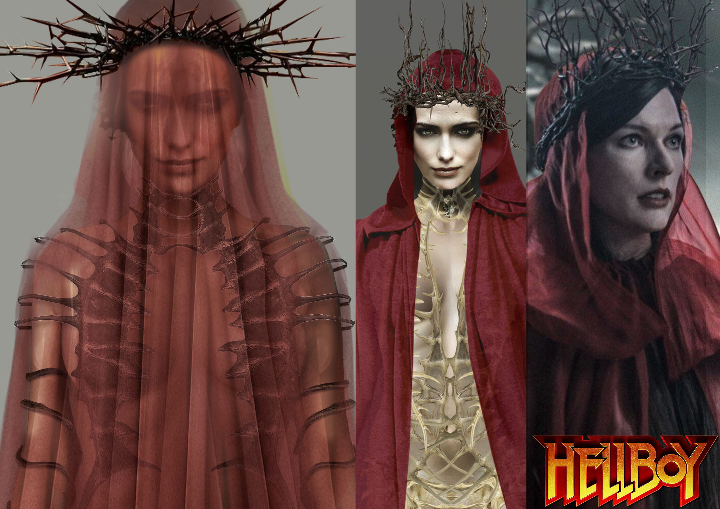 The Blood Queen from Hellboy