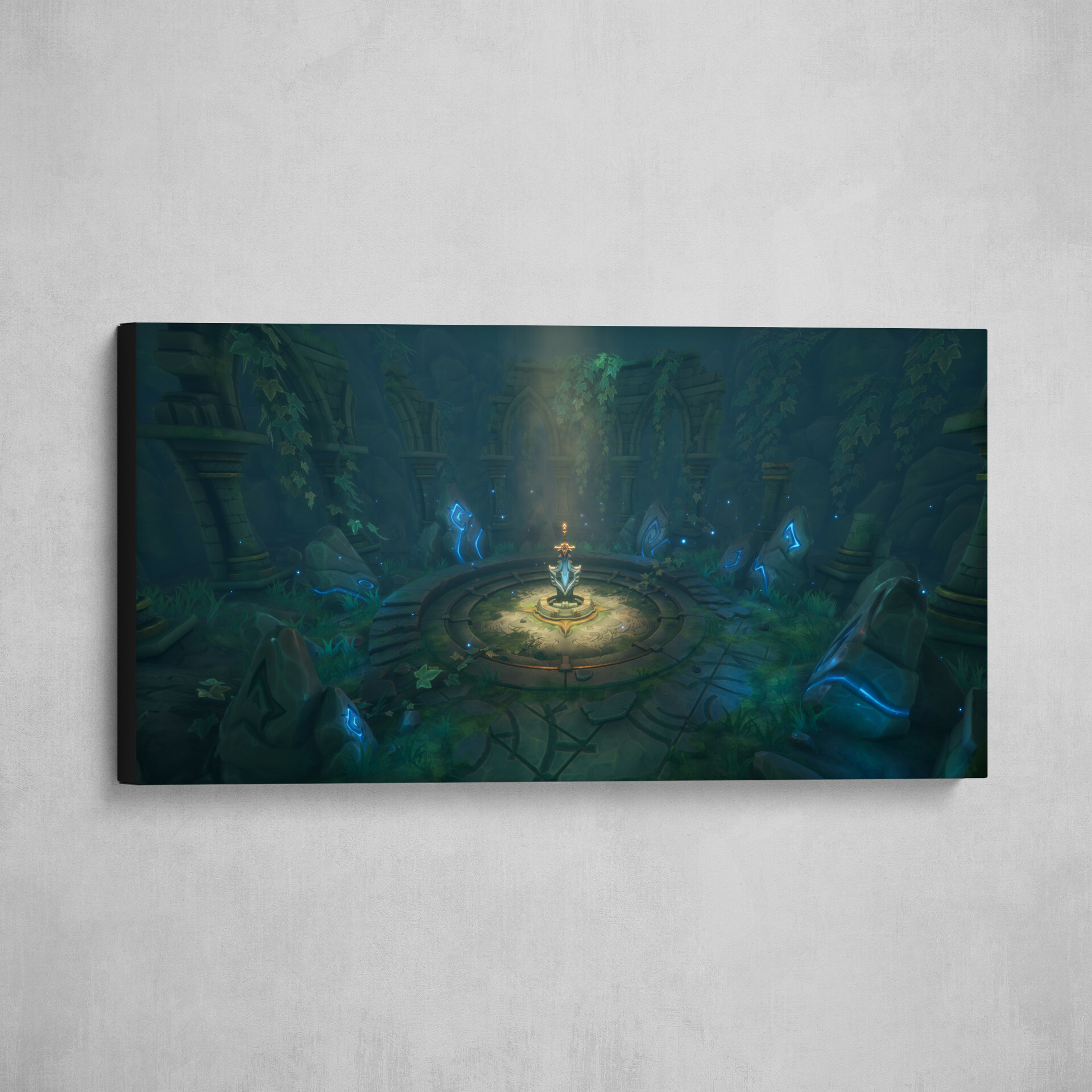 You can now buy an art print of my final submission here : https://www.artstation.com/prints/art_print/E2R7/the-legend-of-king-arthur-artstation-challenge