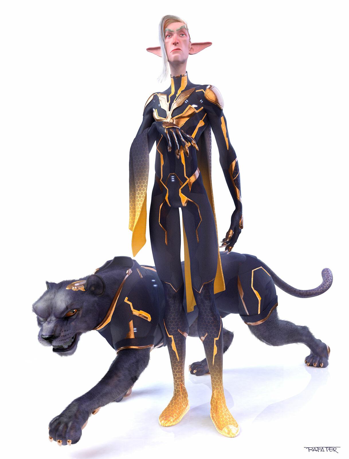 Rafael teruel evil byte jaguar final comp rafater xiao peng