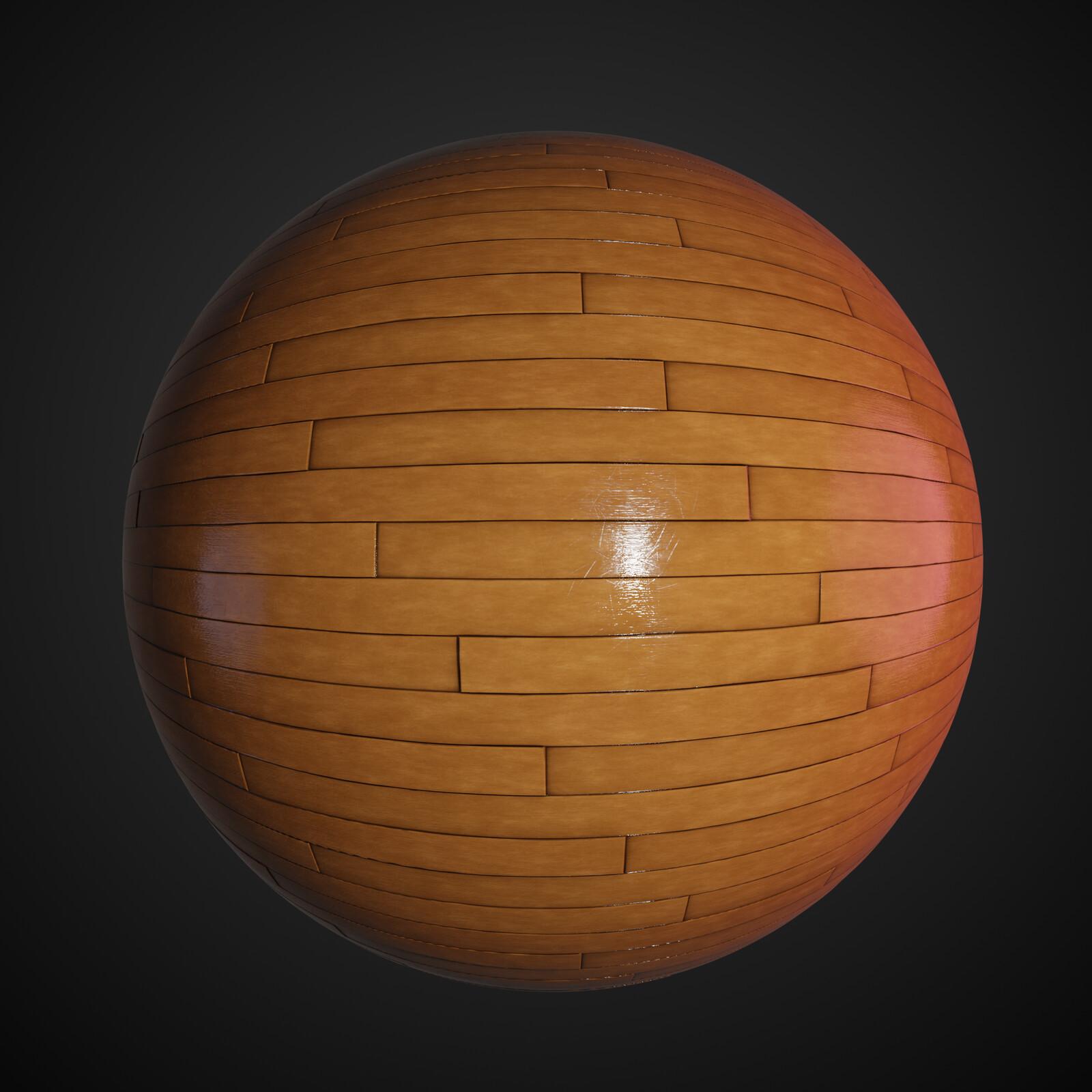 Wood Procedural Tiles