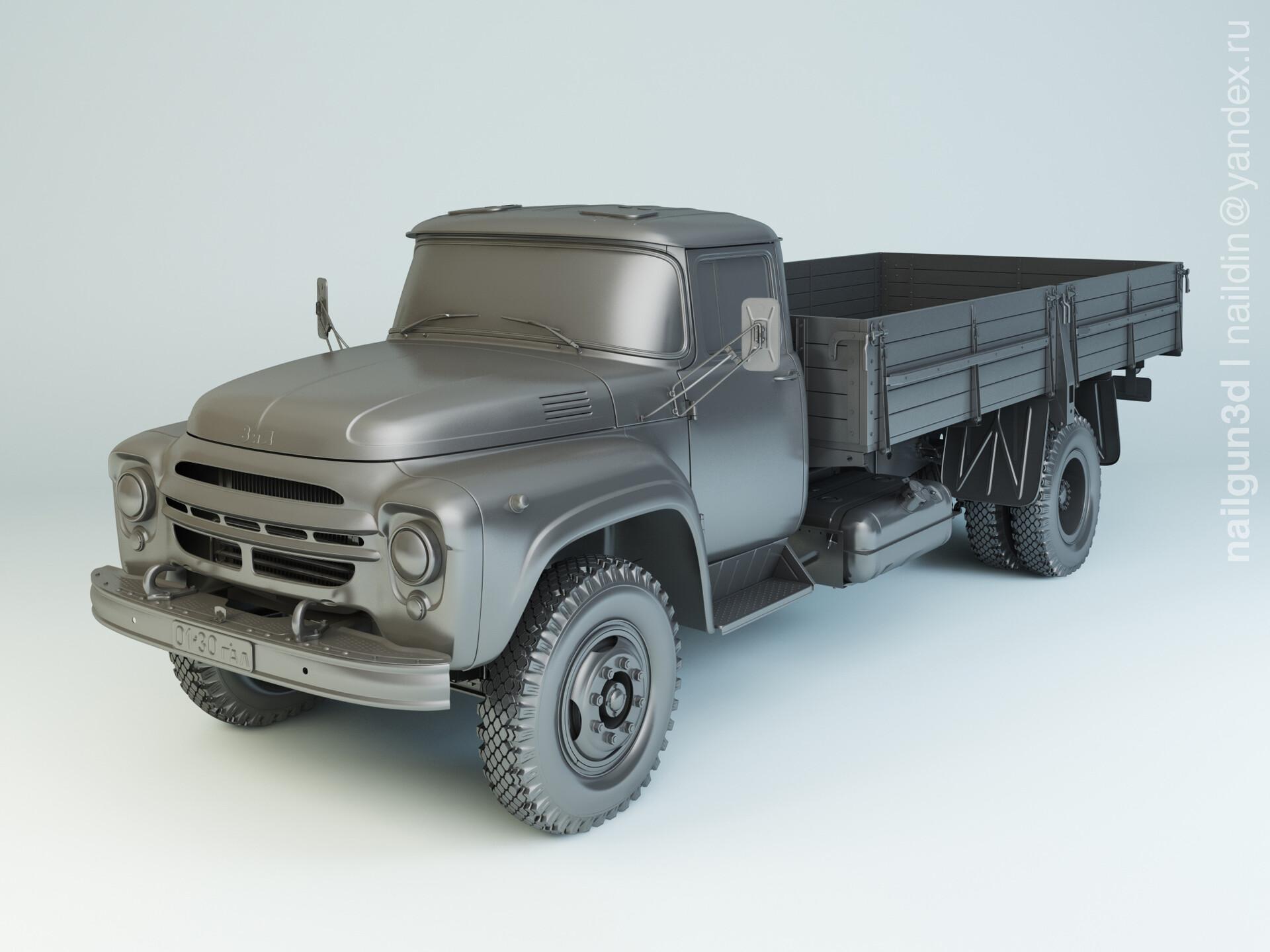 Nail khusnutdinov alg 052 000 zil 130g modelling 0
