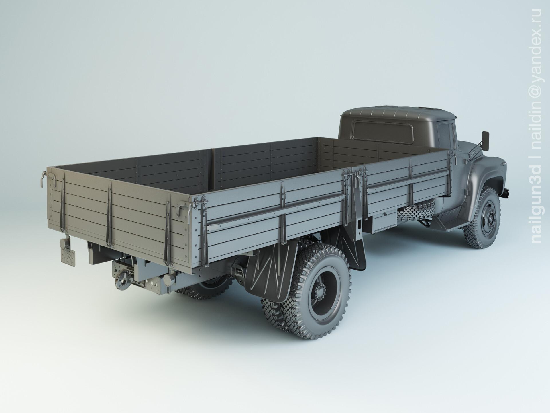 Nail khusnutdinov alg 052 000 zil 130g modelling 1