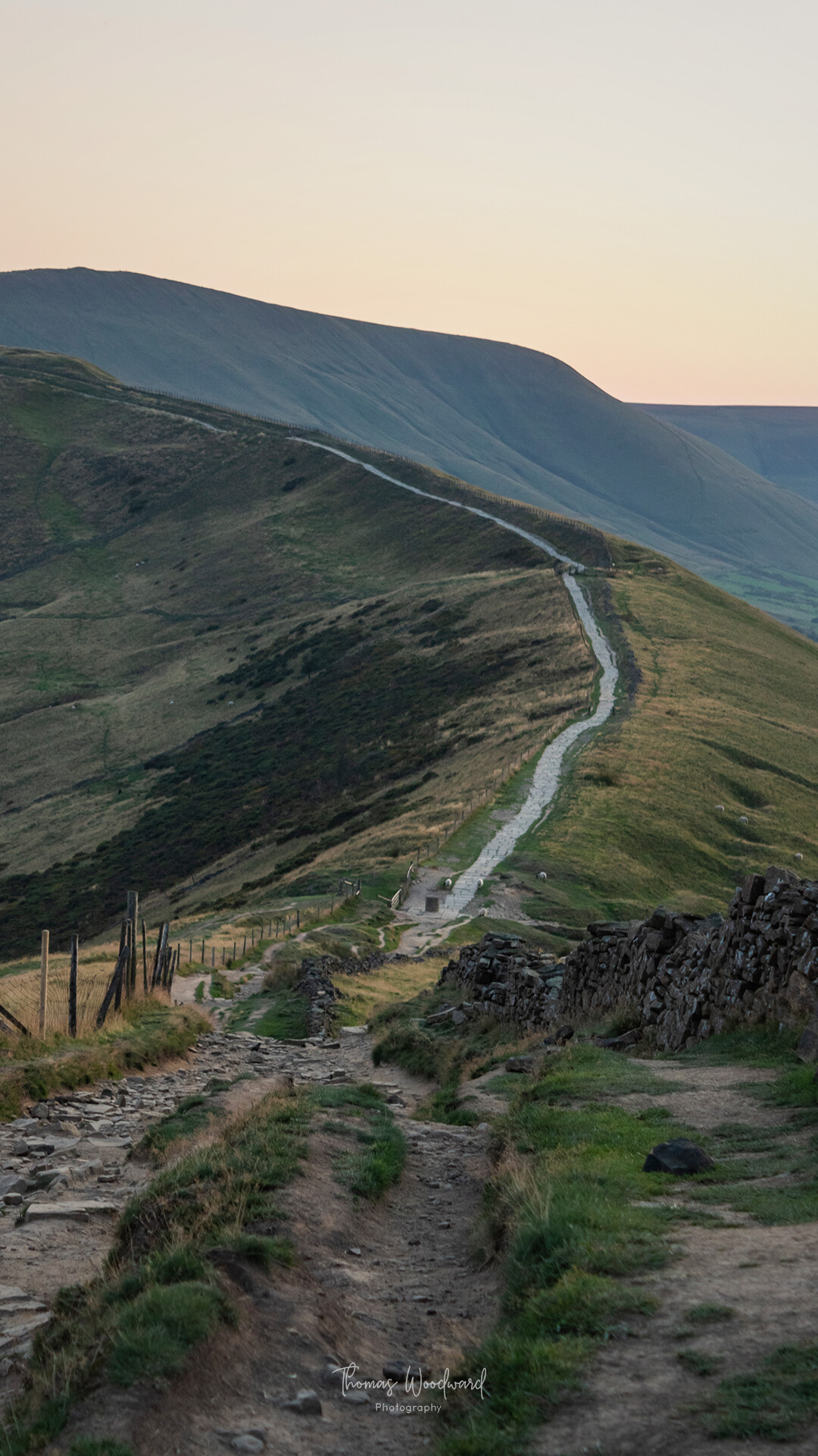 Thomas woodward mam tor evening 6