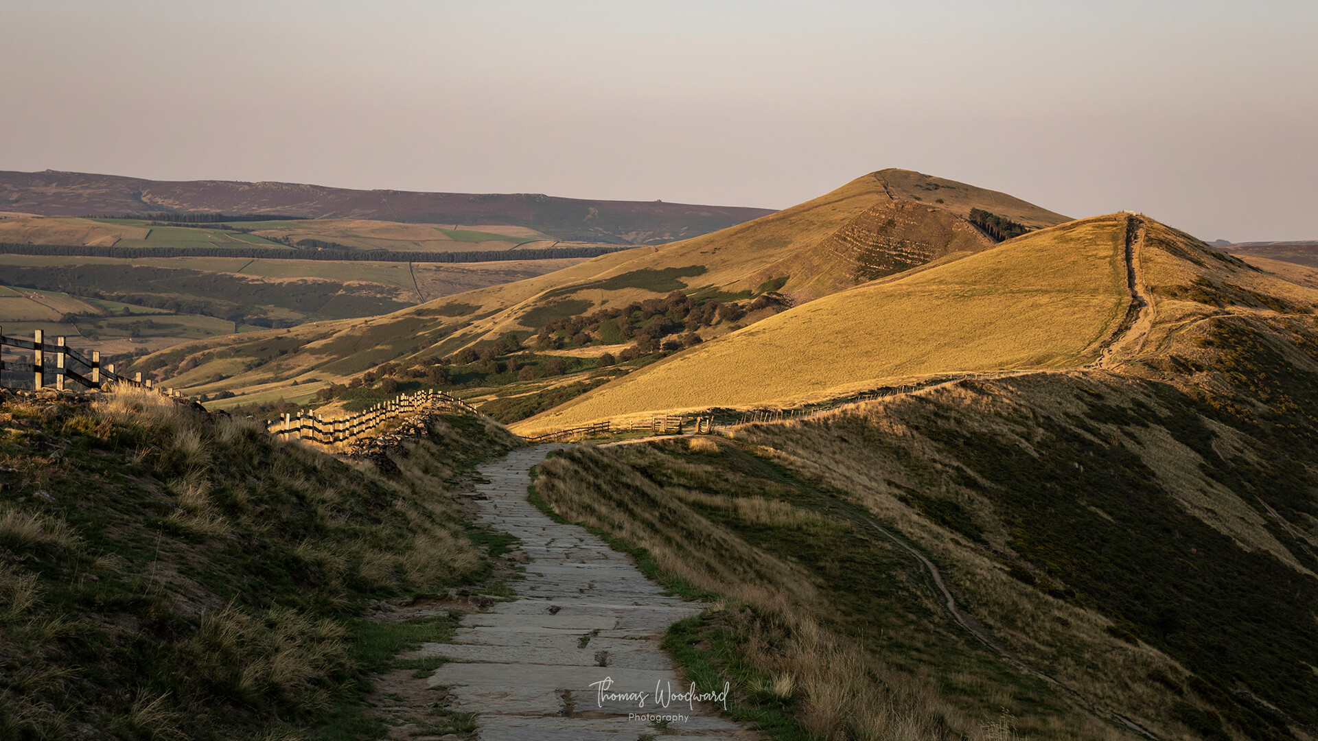 Thomas woodward mam tor evening 9
