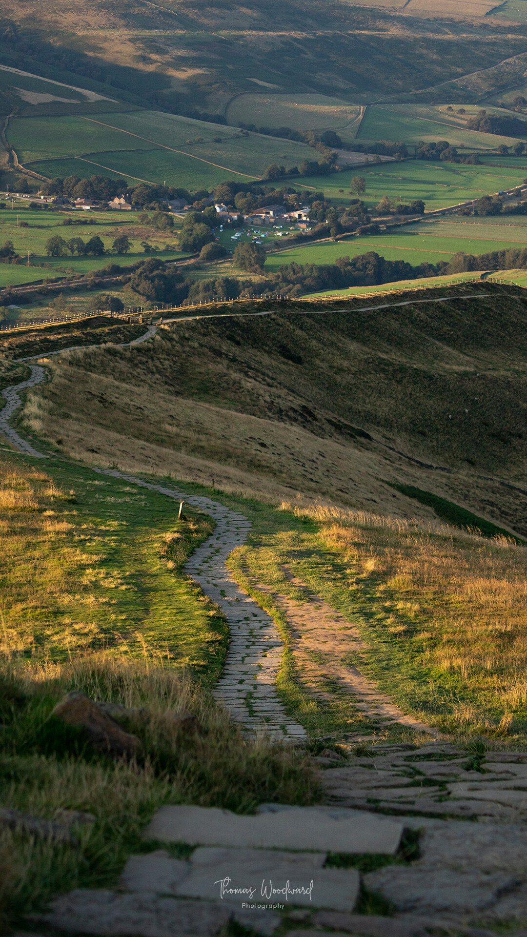 Thomas woodward mam tor evening 5