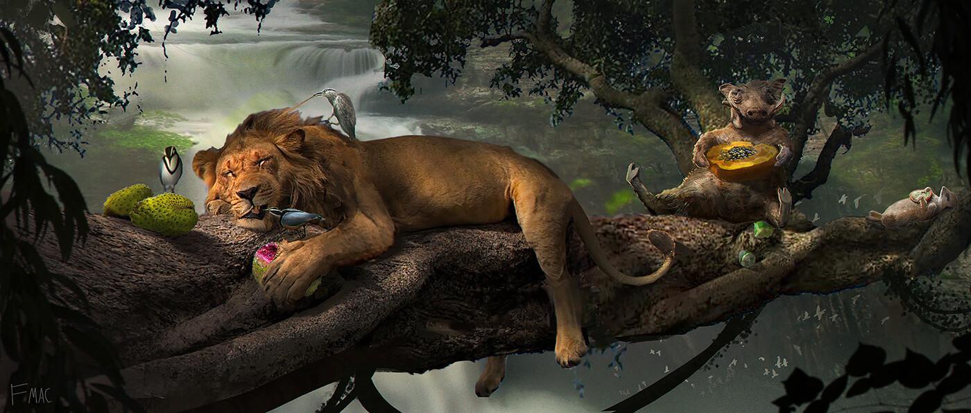 Le Roi Lion [Disney - 2019] - Page 34 Finnian-macmanus-nap-time-fm