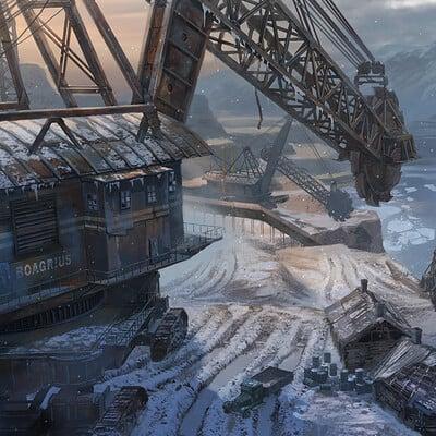 Eddie bennun coal mine scene futuro