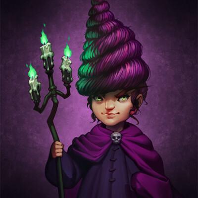 Janette ramos purple wizard