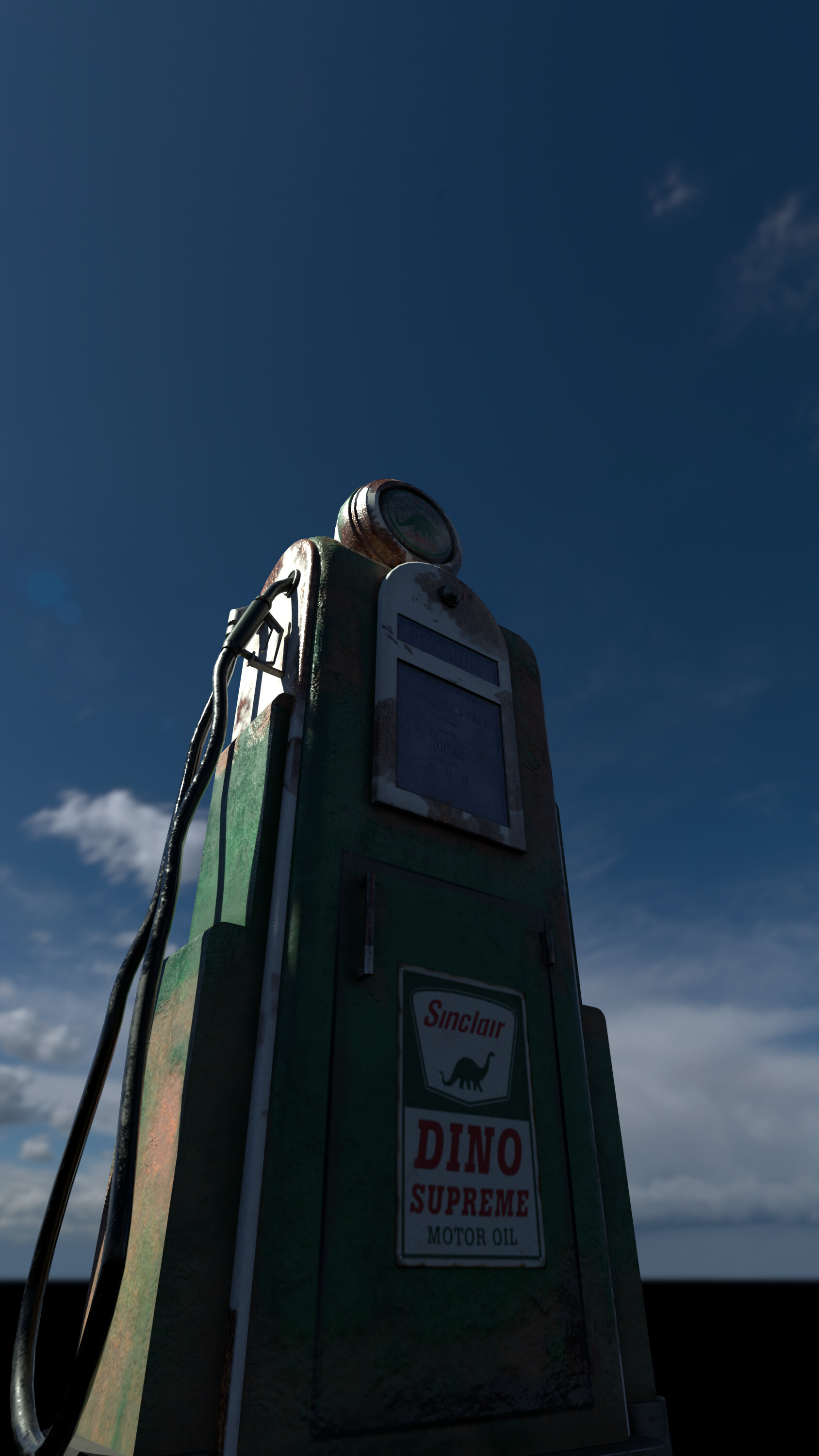 Shona robinson gas pump rendered low shot