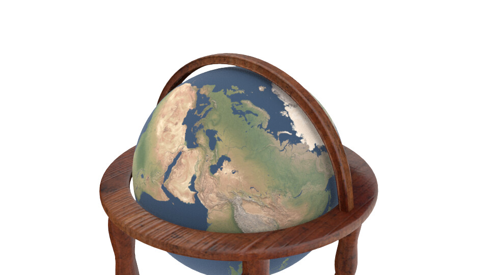 Shona robinson world globe textured 2