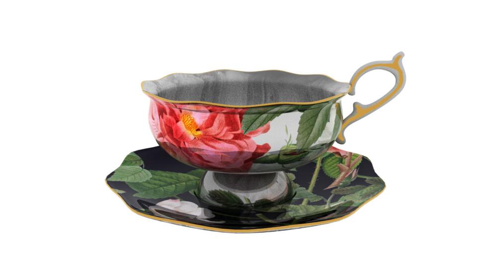 Shona robinson teacup saucer 00