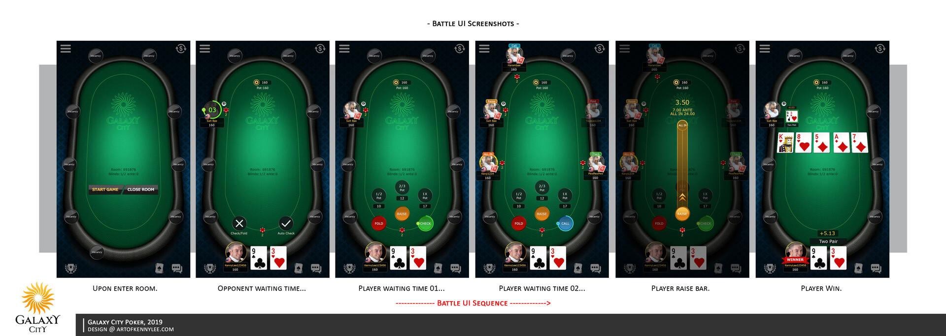 Kenny Lee Galaxy City Poker Casino Games