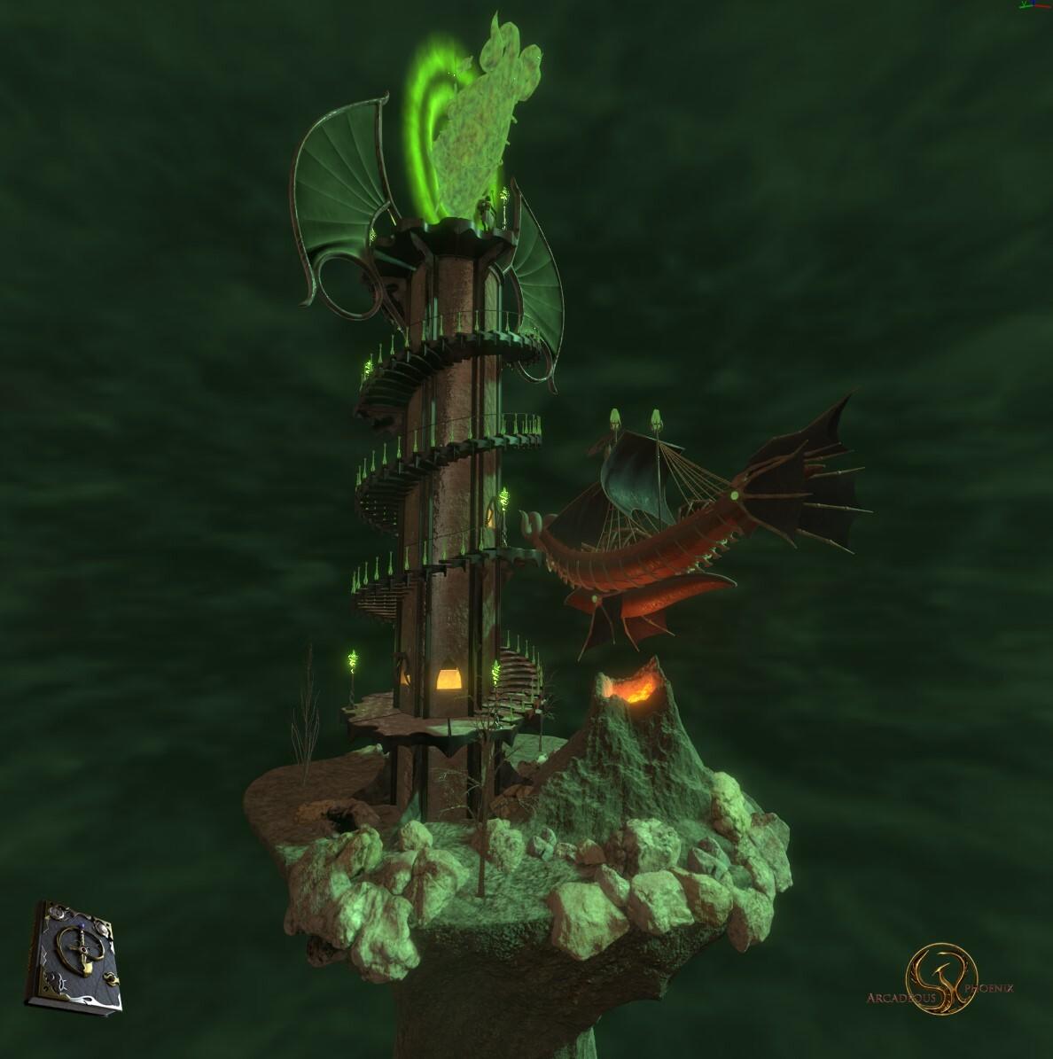 Arcadeous phoenix portal color