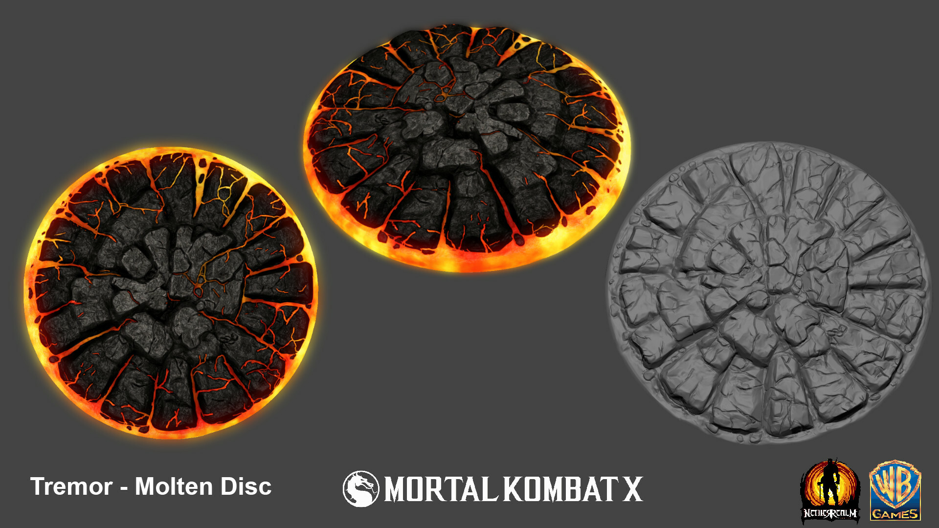 Molten disc weapon for Tremor.