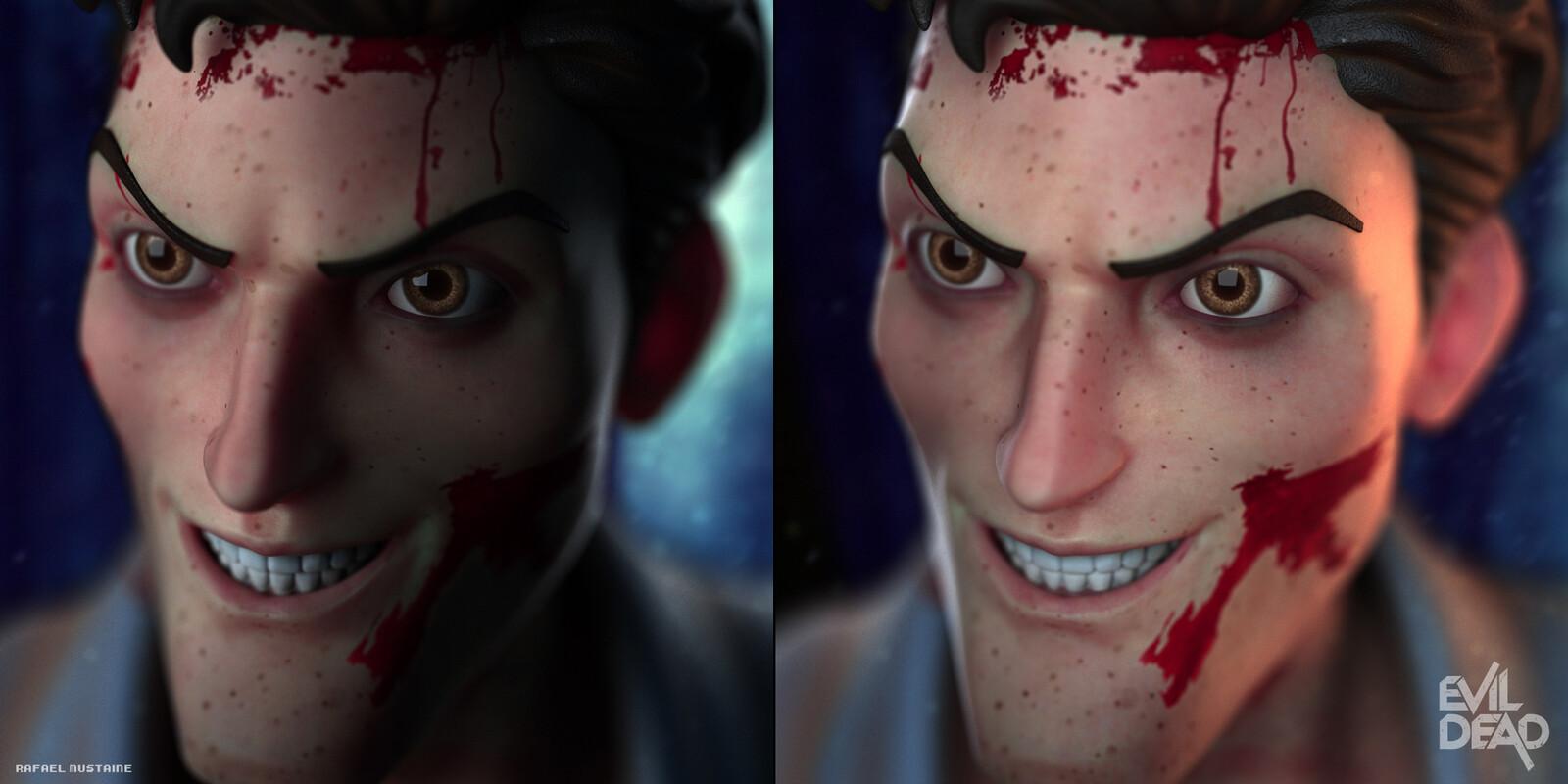 Ash Evil Dead - Render