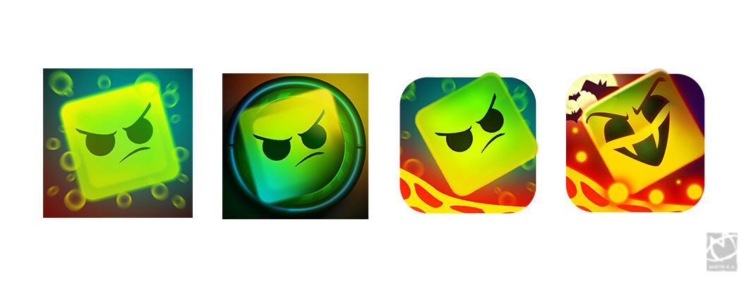 Logo evolution and testing