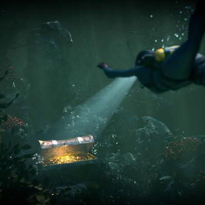 Pietro bernardi undersea