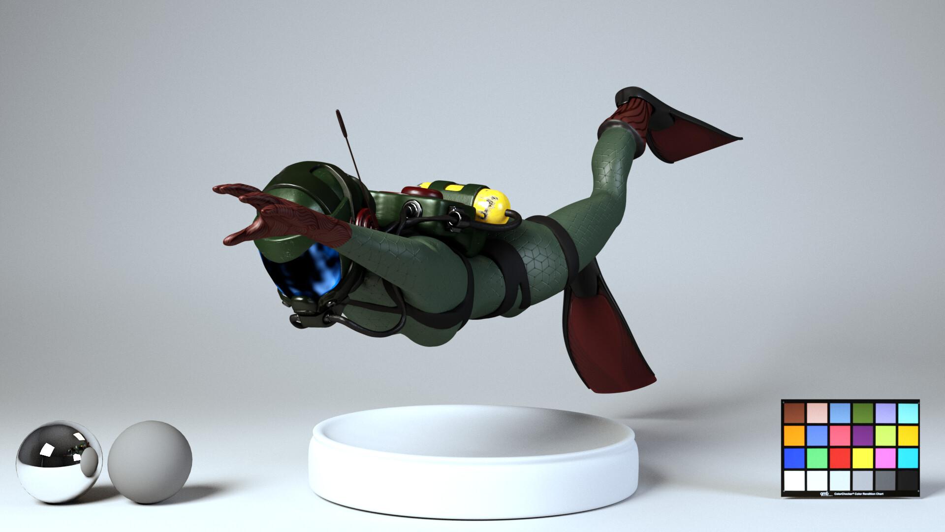 Diver Model