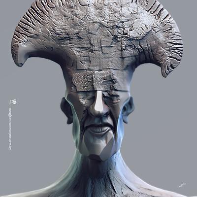 Surajit sen crtr digital sculpture surajitsen aug2019