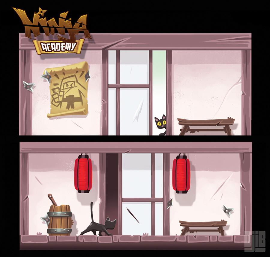 Jean baptiste djib reynaud iello djib ninja academy box detail
