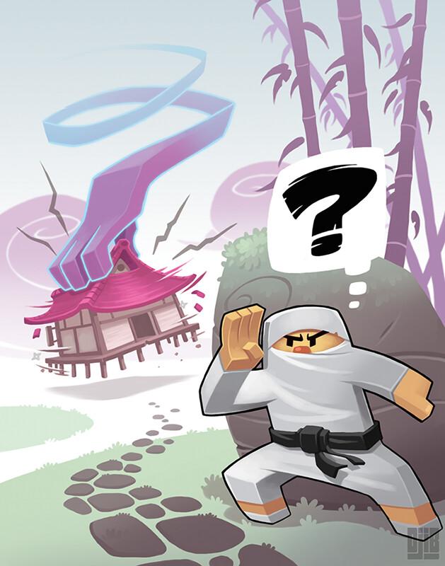 Jean baptiste djib reynaud ninja academy epreuves detection