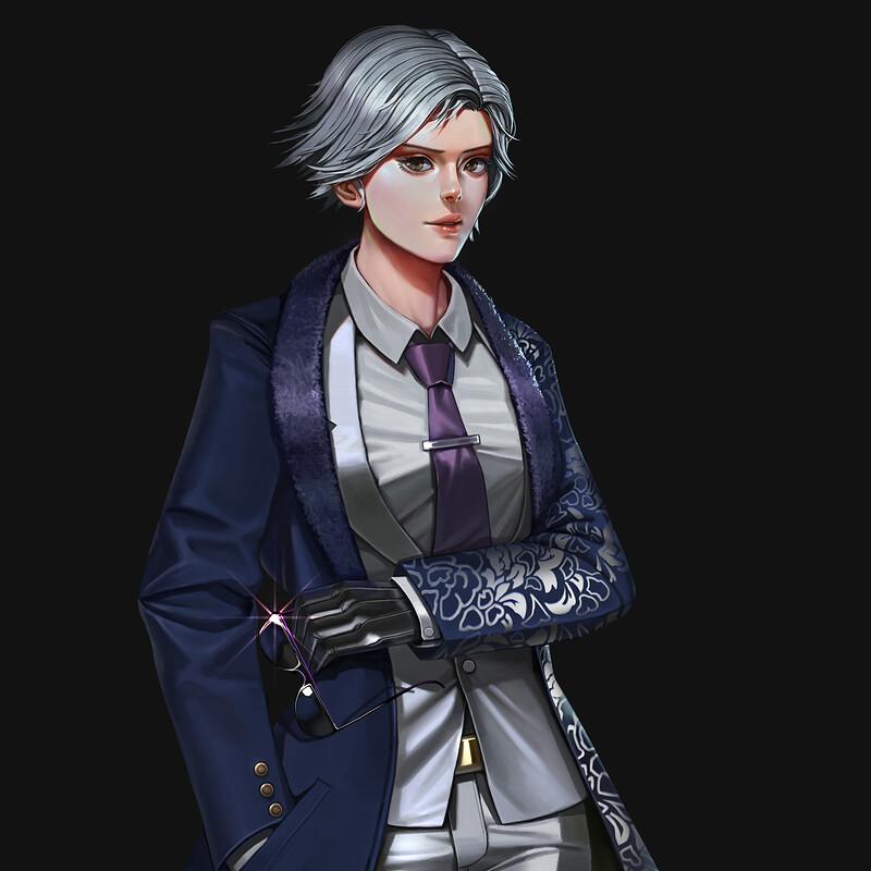 Lee chaolan / Violet - Tekken 7