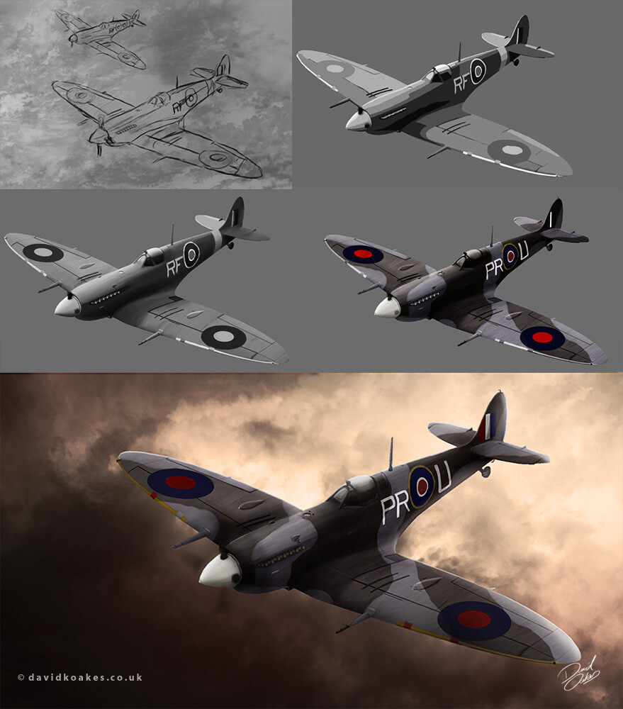 David oakes spitfire process by david oakes