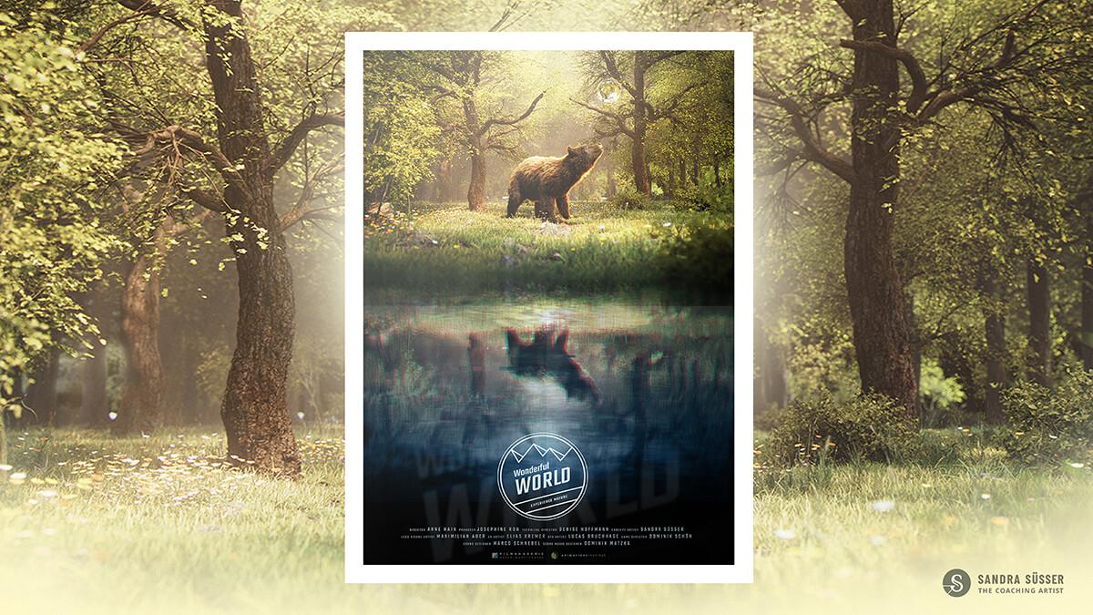 Animation movie poster design