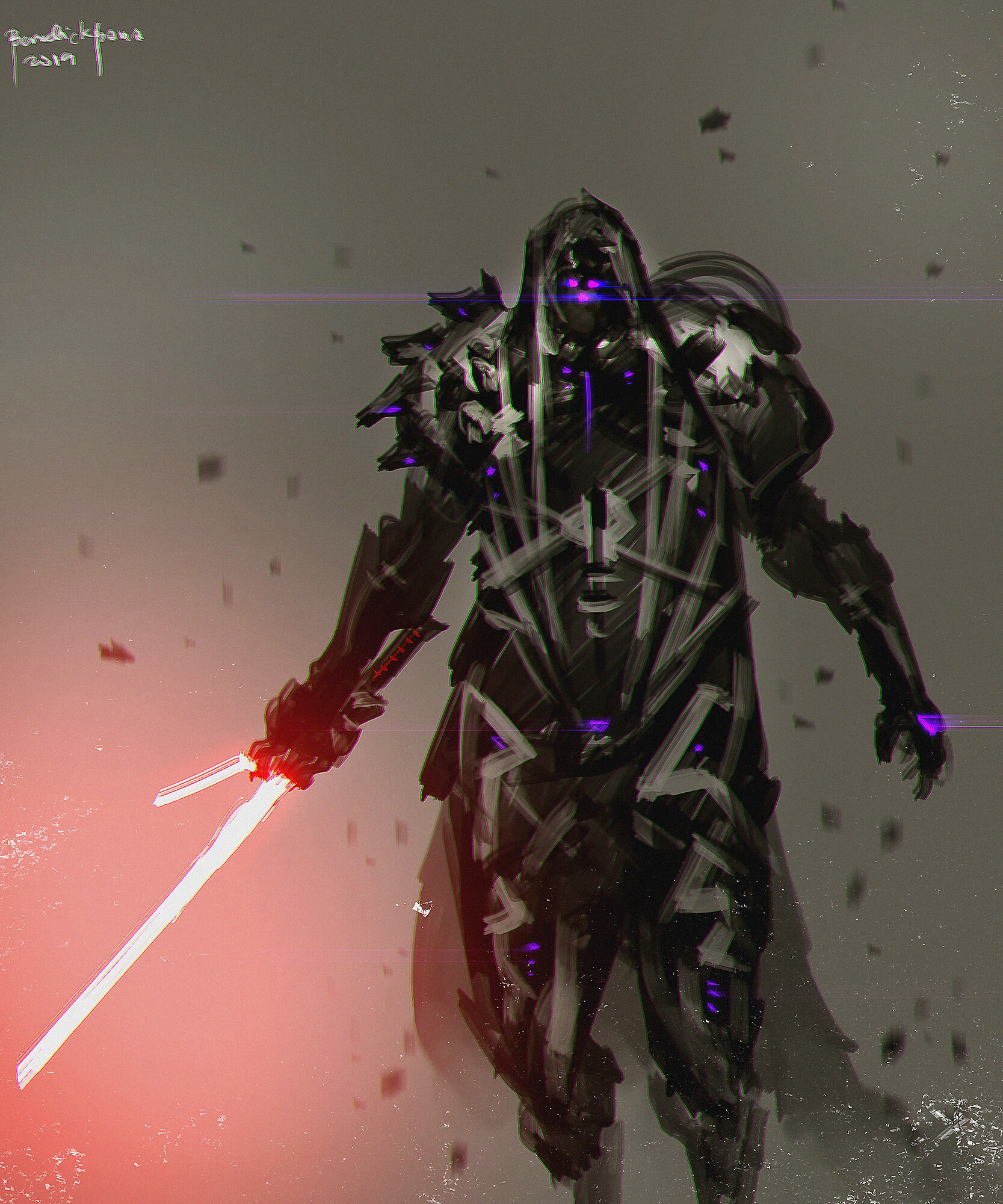 Renegade Sith - personal character design for Star Wars Fanart