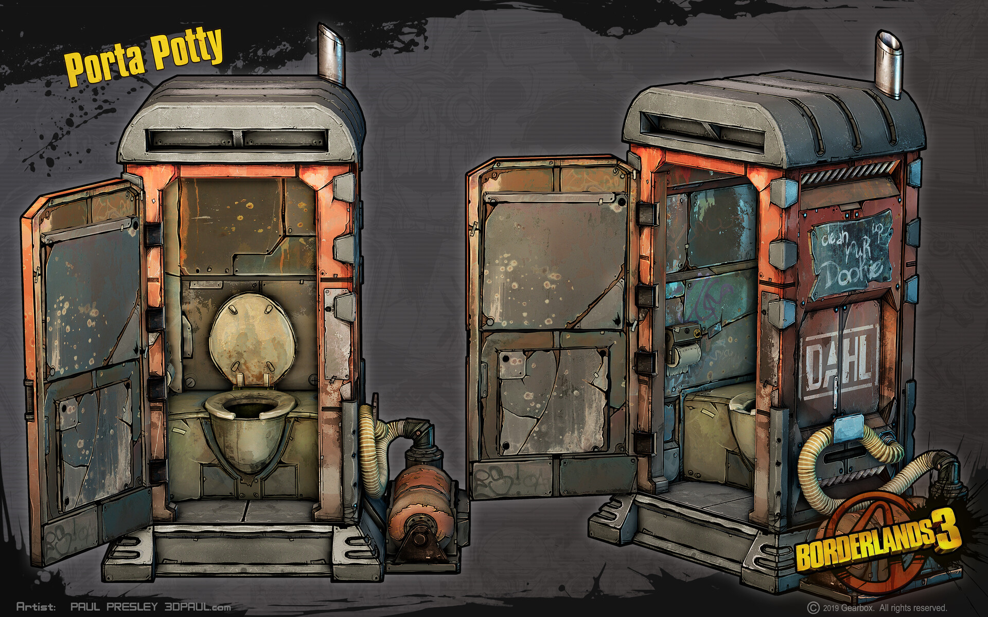 Paul presley paulp porta potty open