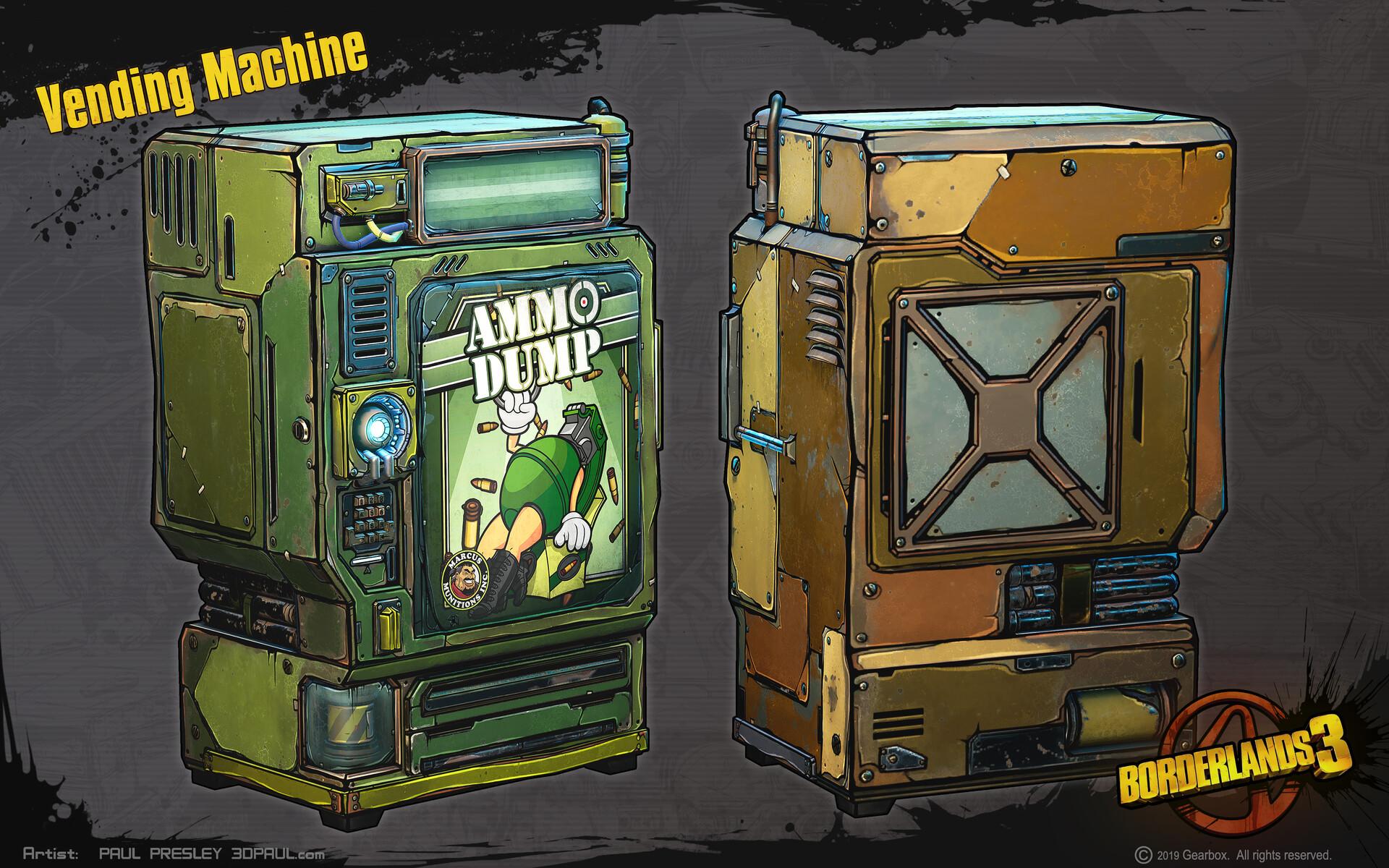 Paul presley paulp vending machine
