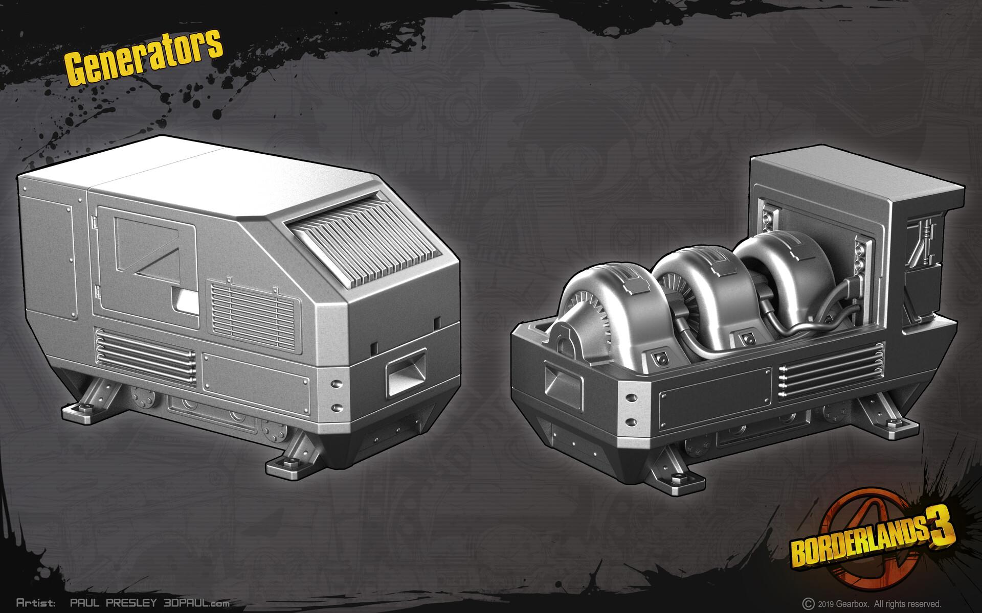 Paul presley high paulp generators