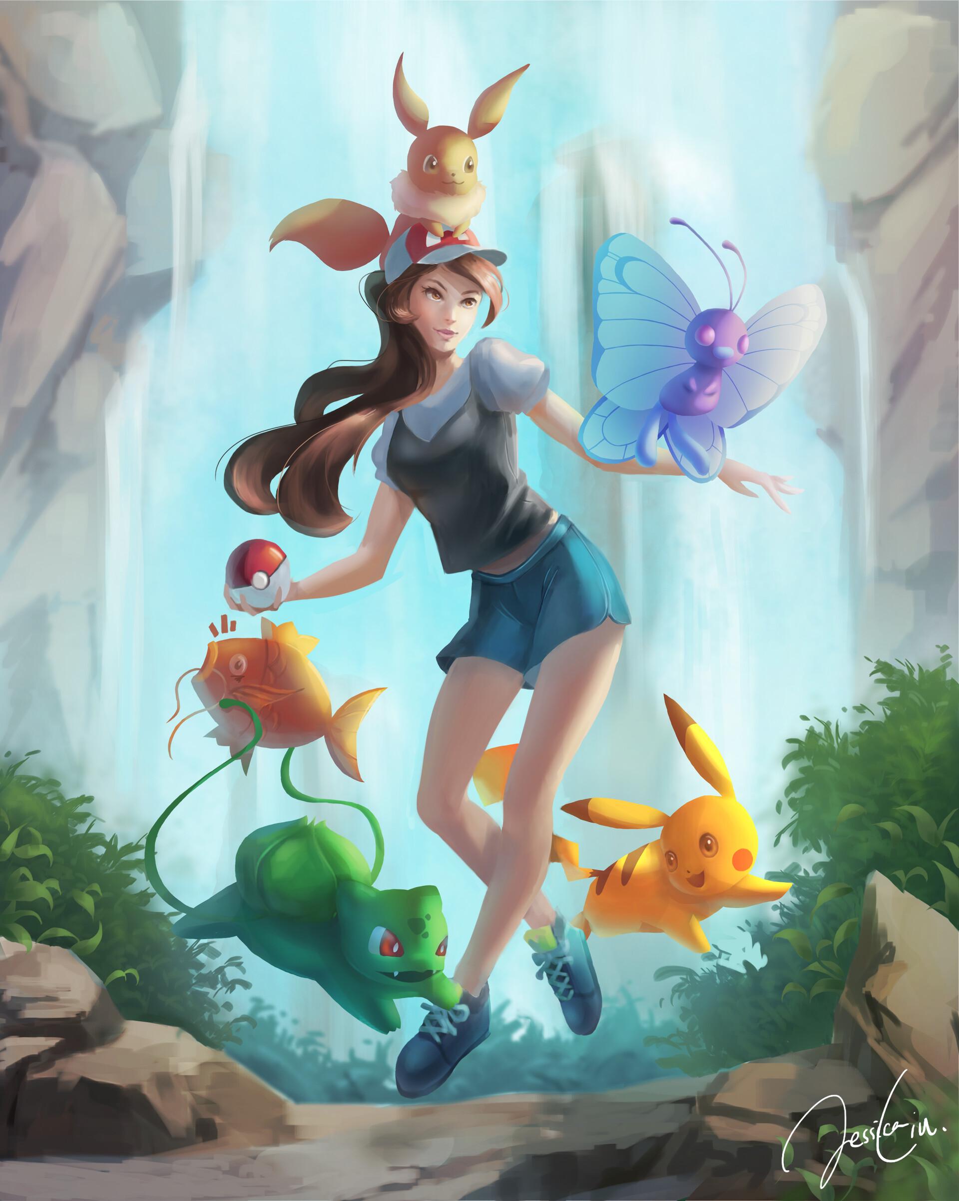Jessica liu pokemonletsgo