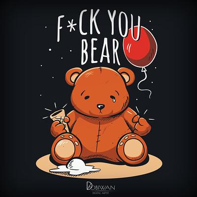 Pawel hudeczek fuck you bear2